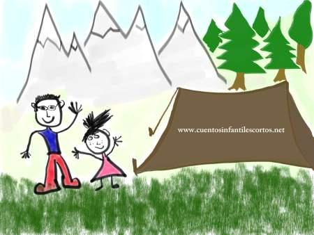 Cuento del niño y el bosque