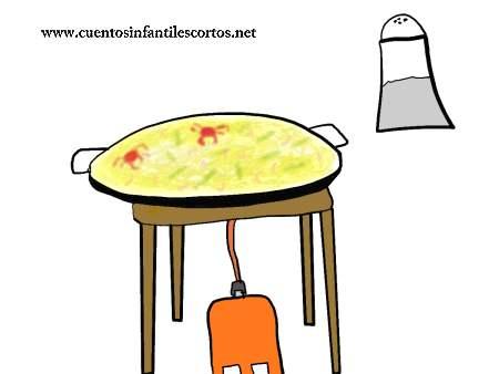 Cuento corto - Los hermanos y la paella salada