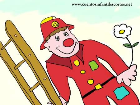 Cuentos cortos - Florin el bombero payaso