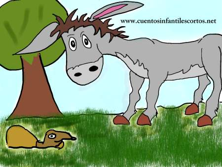 Cuentos cortos-el burro inteligente