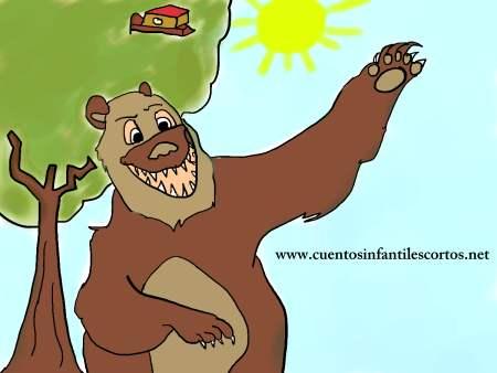 Cuentos infantiles - El oso mentiroso