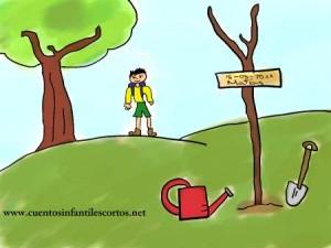 Cuentos infantiles - el dia del arbol