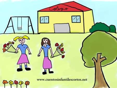 Cuentos infantiles - la primavera y las flores del campo