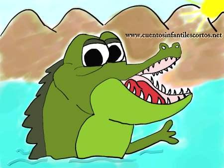 cuentos cortos El cocodrilo cojo