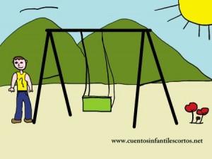Cuentos cortos - El columpio de los niños