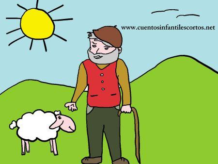 Cuentos cortos - El pastorcillo y las ovejas