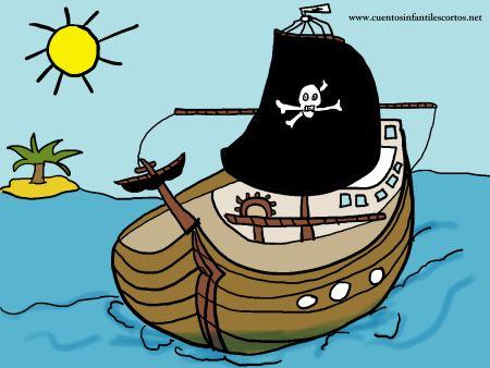 Cuentos infantiles - El pirata barbanegra