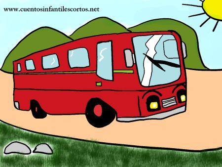 Cuentos infantiles - el autobus solidario de cuatro casas