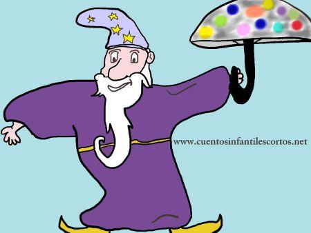 Cuentos infantiles - el mago del paraguas magico