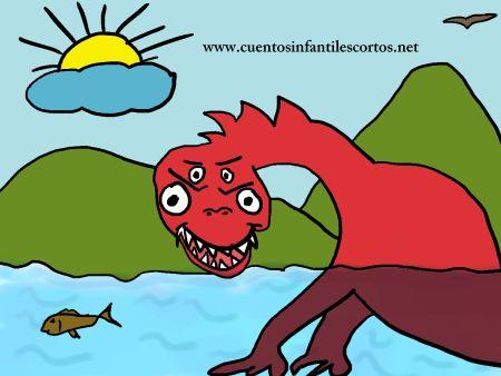 Cuentos infantiles - el monstruo del lago Ness