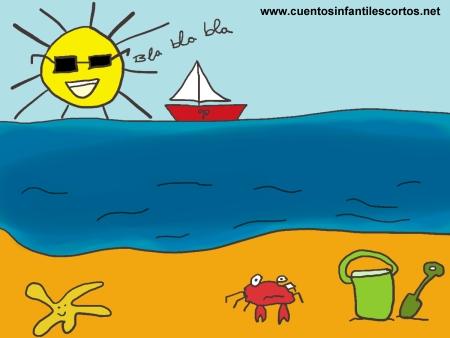 Cuentos cortos - el verano parlanchin