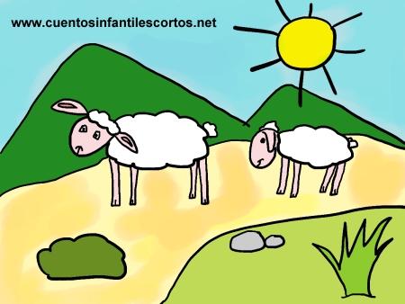 Cuentos infantiles - Las ovejitas del pueblo