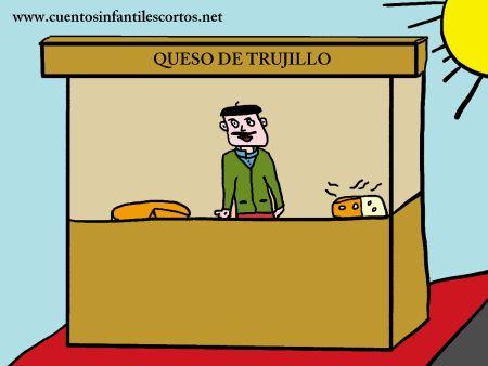 Cuentos infantiles - el queso de Trujillo