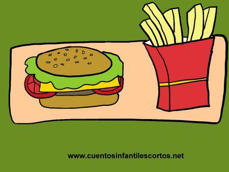 Cuentos-infantiles-El-nino-de-la-hamburguesa