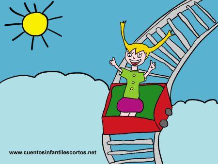 Cuentos infantiles - Pipi y la montaña rusa
