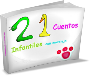 Cuentos infantiles con moraleja_3D
