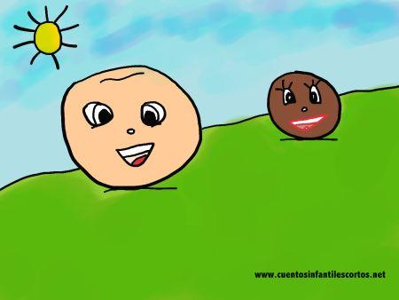 Cuentos cortos - El niño Garbanzo y la niña lenteja