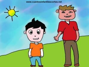 Cuentos infantiles - dos niños hermanos