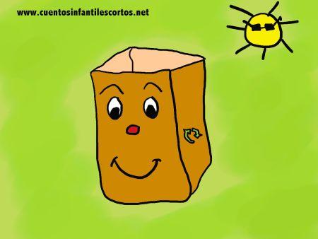 Cuentos infantiles - Pape la bolsa de papel