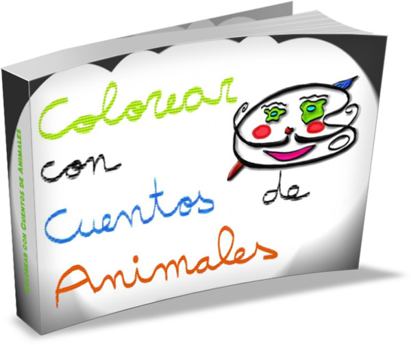 Colorear con cuentos de animales_3D