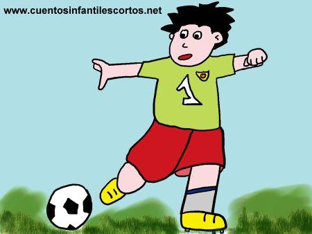 Cuentos-cortos-Iris-la-nina-futbolista
