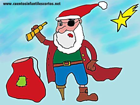 Cuentos de naviadad - El pirata bueno de navidad
