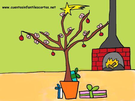 Cuentos infantiles - La navidad del almendro coral