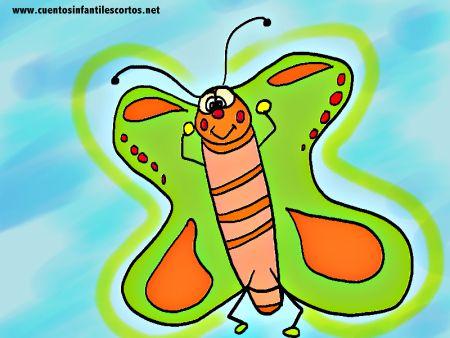 Cuentos infantiles - La mariposa invisible