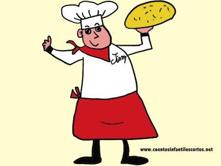 Cuentos infantiles - Jimmy el cocinero gloton