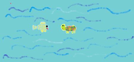 cuento-infantil-la-tortuga-y-el-pez